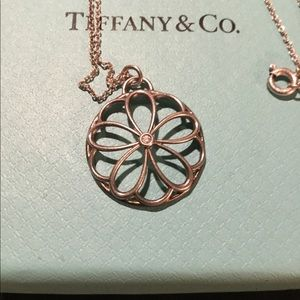 Rare Floral Tiffany&Co Diamond Necklace